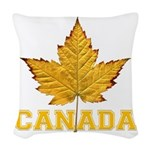 Canada Varsity Team Woven Throw Pillow
