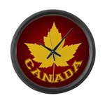 Canada Varsity Team Large Wall Clock