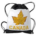 Canada Varsity Team Drawstring Bag