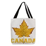 Canada Varsity Team Polyester Tote Bag