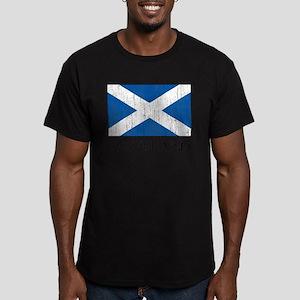 Scotland Flag Men's Fitted T-Shirt (dark)