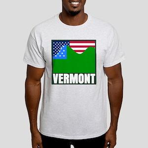 VERMONT - SECEDE? Ash Grey T-Shirt