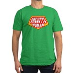 Omelette Man Men's Fitted T-Shirt (dark)
