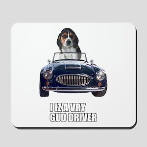 LOL Beagle Driver Mousepad