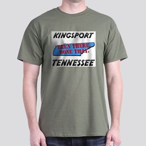 kingsport tennessee - been there, done that Dark T