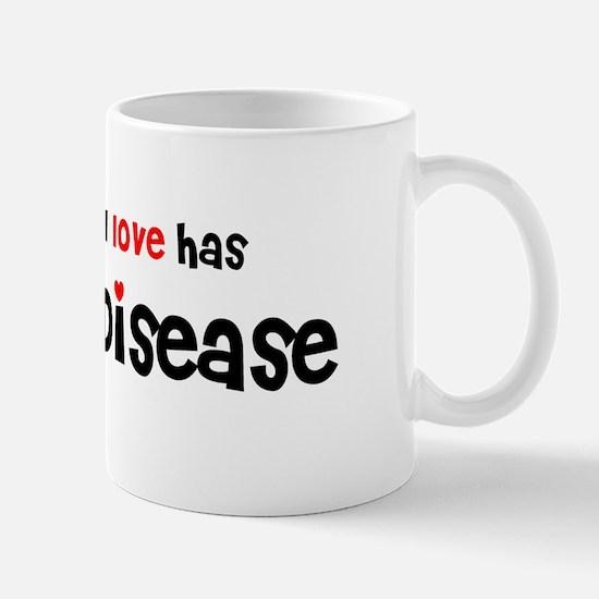 someone I love Celiac Disease Mug