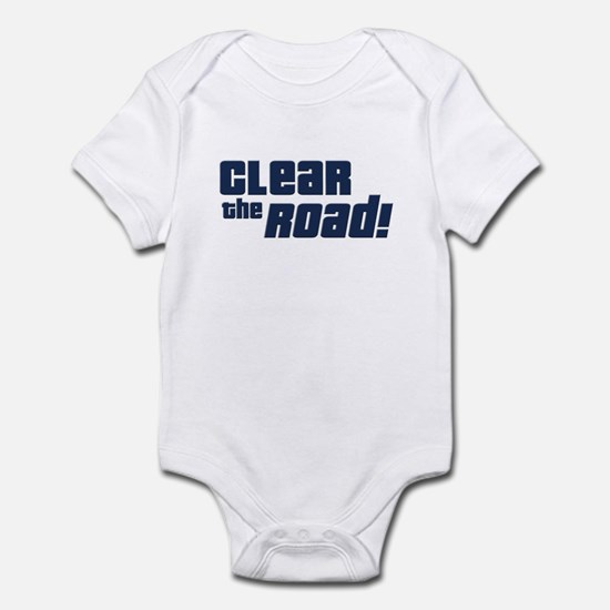 Clear the Road 16th Birthday Infant Bodysuit
