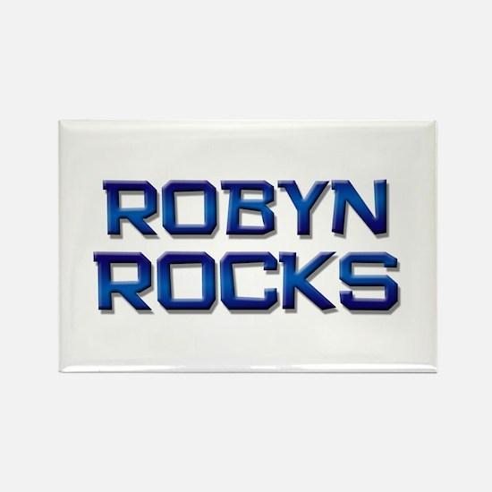 robyn rocks Rectangle Magnet