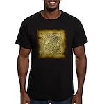 Celtic Letter Z Men's Fitted T-Shirt (dark)