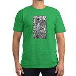 Celtic Surreality Men's Fitted T-Shirt (dark)