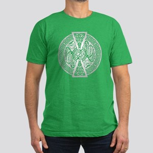 Celtic Dragons Men's Fitted T-Shirt (dark)