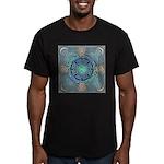 Celtic Eye of the World Men's Fitted T-Shirt (dark