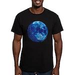 Celtic Knotwork Blue Moon Men's Fitted T-Shirt (da