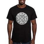 Celtic Shield Men's Fitted T-Shirt (dark)