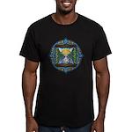 Celtic Sun-Moon Hourglass Men's Fitted T-Shirt (da