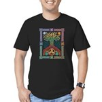 Celtic Tree Of Life Men's Fitted T-Shirt (dark)