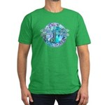 Cool Celtic Dragonfly Men's Fitted T-Shirt (dark)