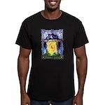 Celtic Doorway Men's Fitted T-Shirt (dark)