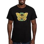 Celtic Butterfly Men's Fitted T-Shirt (dark)