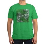 Celtic Puzzle Square Men's Fitted T-Shirt (dark)