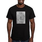 Celtic Knot Bare Branc Men's Fitted T-Shirt (dark)