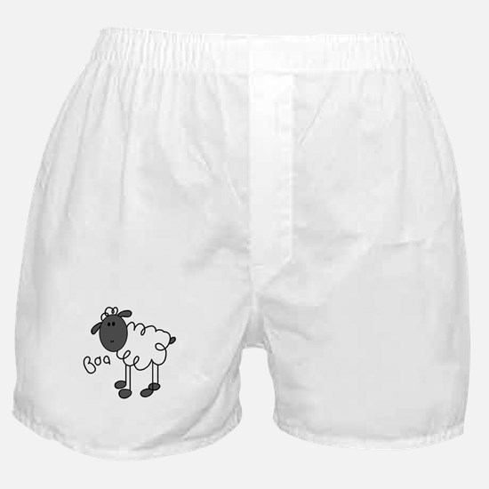 Baa Sheep Boxer Shorts