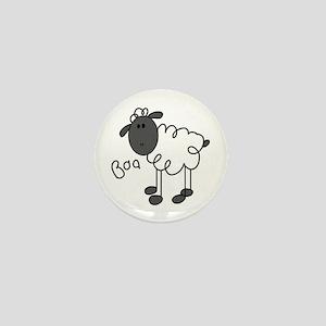 Baa Sheep Mini Button