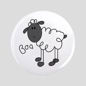 "Baa Sheep 3.5"" Button"