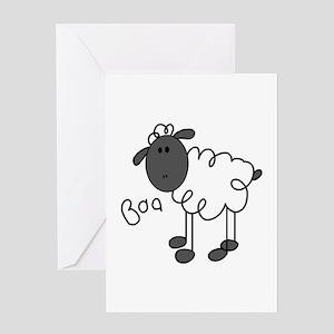 Baa Sheep Greeting Card