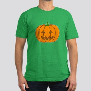 Jack O Lantern Men's Fitted T-Shirt (dark)