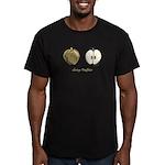 Going Halfsies Apples Men's Fitted T-Shirt (dark)