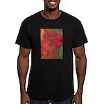 Autumn Fury Men's Fitted T-Shirt (dark)