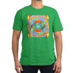 Sacred Geometry Watercolor Men's Fitted T-Shirt (d