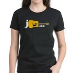 Jguitar.com Women's 2-Sided Dark T-Shirt