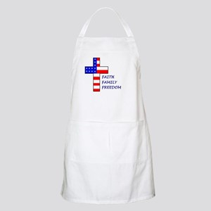 Faith, Family, Freedom BBQ Apron