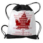 Canada Anthem Souvenir Drawstring Bag
