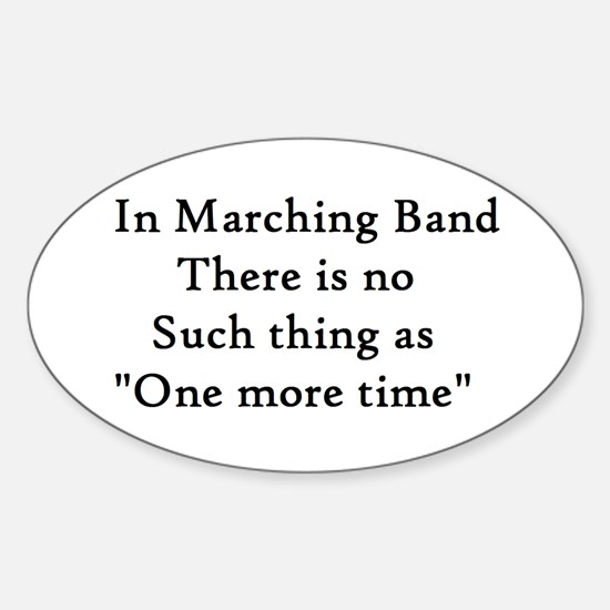 One More Time Sticker (Oval 10 pk)
