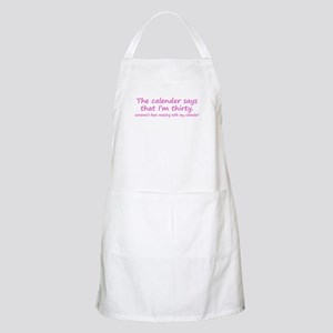 I'm Not Thirty BBQ Apron