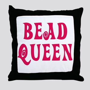 Bead Queen Throw Pillow