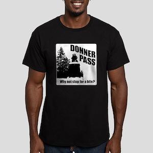Donner Pass Men's Fitted T-Shirt (dark)