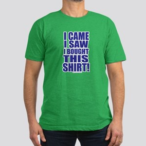 I came I saw Men's Fitted T-Shirt (dark)