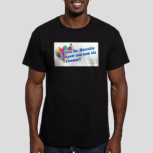 Huxtable Sweater Men's Fitted T-Shirt (dark)