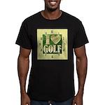I Love Golf Men's Fitted T-Shirt (dark)
