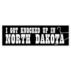North Dakota Pro-Choice Bumper Sticker (50 pk)
