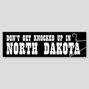 North Dakota Pro-Choice Bumper Sticker