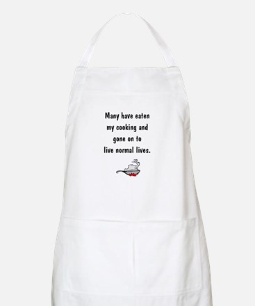 Questioning the Cook BBQ Apron