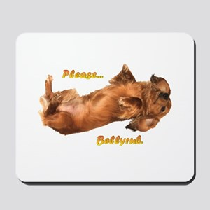 Bellyrub Doxie Mousepad