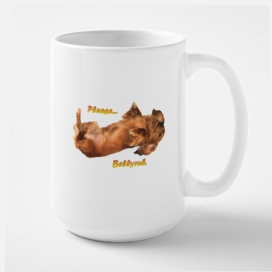 Bellyrub Doxie Large Mug