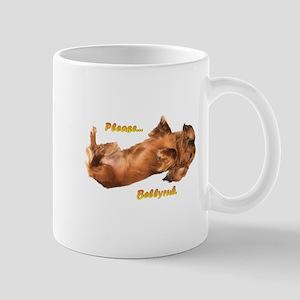 Bellyrub Doxie Mug