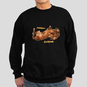 Bellyrub Doxie Sweatshirt (dark)